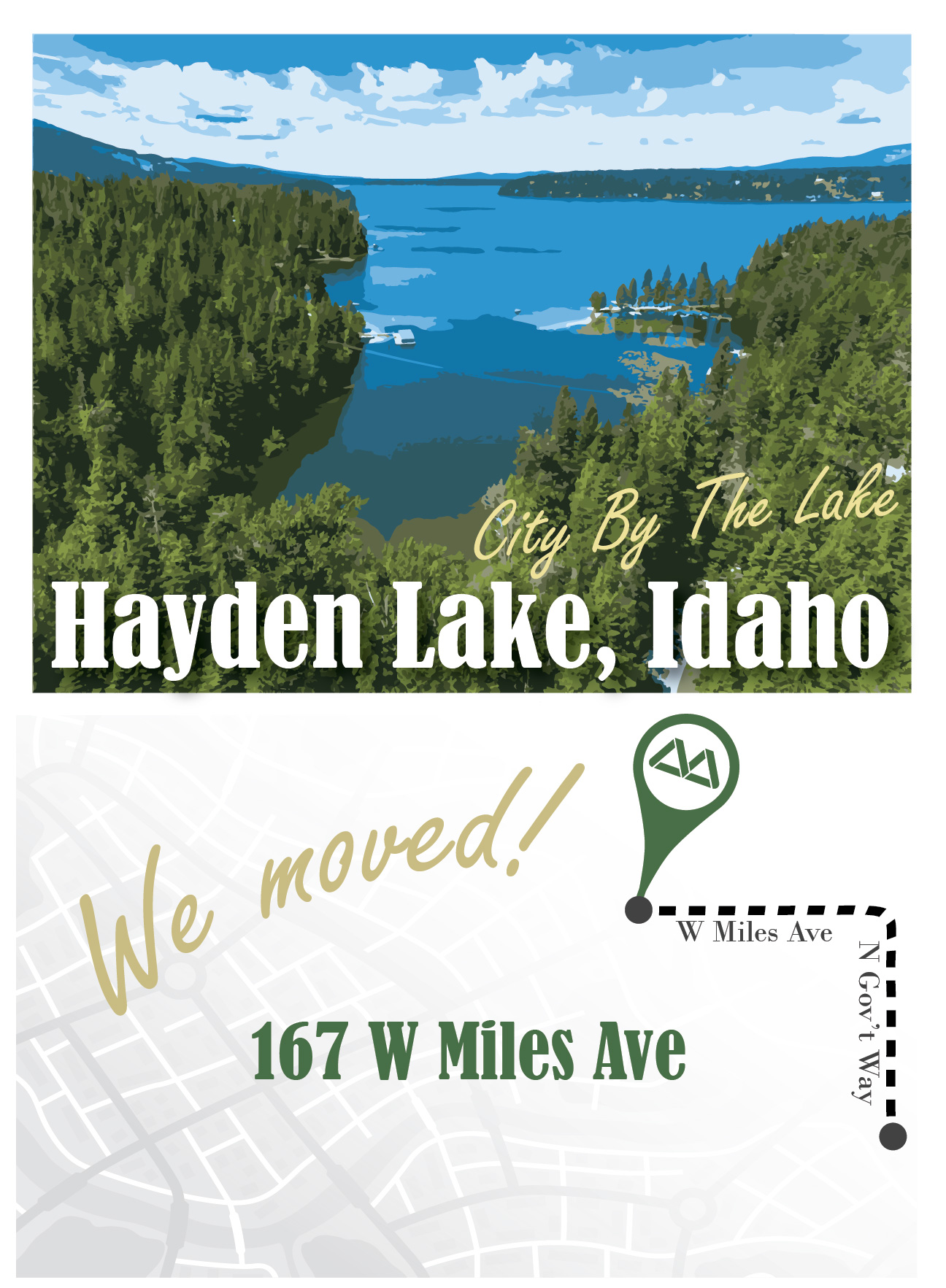 Hayden Lake move graphic